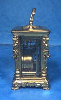Victorian Miniature Brass Carriage Clock (10 of 11)