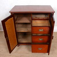 Filing Cabinet 19th Century Mahogany Birdseye Maple (5 of 10)