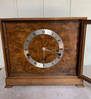 Walnut Chiming Elliott Mantel Clock (6 of 10)