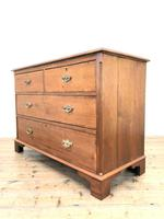 Early 20th Century Oak Chest of Drawers (4 of 6)