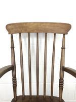 Antique 19th Century Beech & Elm Windsor Armchair (5 of 13)