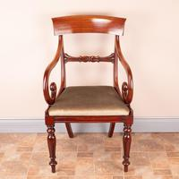 Set of Eight 19th Century Mahogany Dining Chairs (16 of 26)