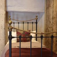 Black Victorian Single Antique Bed (2 of 4)