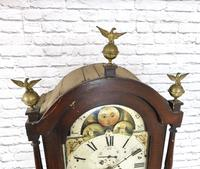 Painted Pine Cornish Longcase Clock (6 of 11)