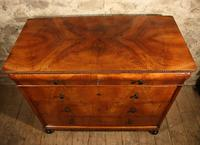19th Century Walnut Chest of Drawers (4 of 6)