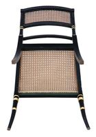 19th Century Regency Decorated Elbow Hall / Side Chair (9 of 9)