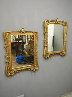 Pair of Victorian Gilded Mirrors (2 of 12)