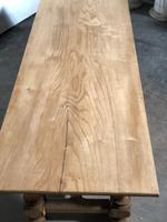 French large oak farmhouse dining table (14 of 38)