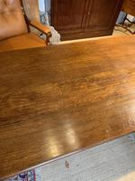 Oak refectory table baluster legs (2 of 7)