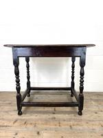 18th Century Antique Oak Side Table (11 of 11)