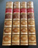 1837 The Miscellaneous Works of Oliver Goldsmith  Complete in  4  Full Leather Bindings.