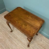 Victorian Oak Antique Silver Table (2 of 6)