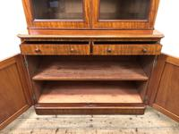 Antique Mahogany Two Stage Bookcase (5 of 10)