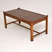 Antique Solid Mahogany Coffee Table (8 of 9)