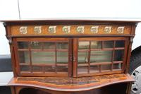 1910's Coromandel Open Bookcase with Mother of Pearl Inset (6 of 6)