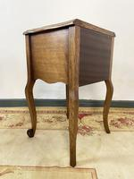 Vintage French Pair of Louis Style Bedsides Tables Oak Cabinets (12 of 12)
