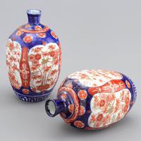 Pair of Japanese Meiji Period Square Form Imari Vases c.1890 (5 of 9)