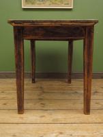 Small Antique Pine Scrub Top Kitchen Table, Top Stripped Ready for Use (15 of 16)