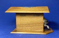 Victorian French Chestnut Dog Kennel Money Box (5 of 10)