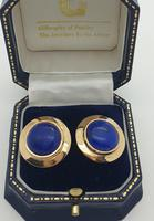 18ct Lapis Earrings (5 of 5)