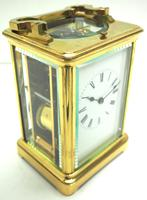 Large Classic Antique French 8-day Gong Striking Repeating Carriage Clock c.1880 (9 of 10)