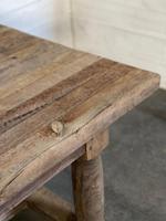 Rare Large & Deep Oak Farmhouse Dining Table (22 of 31)