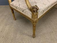 19th Century French Giltwood Settee (11 of 15)