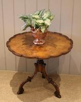 Good Quality Low Walnut Table (3 of 10)