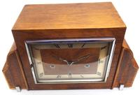 Fine Smiths Art Deco Mantel Clock Triple Chime 8 Day Westminster Chime Mantle Clock (7 of 10)