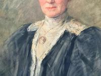 Henry Wright Kerr Exceptional Watercolour Portrait Painting (5 of 10)