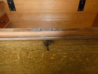 19th Century Scumbled Blanket Box (4 of 12)
