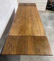 Oak Farmhouse Dining Table with Extensions (3 of 18)