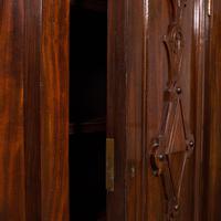 Huge, 15 Foot Antique Glazed Bookcase, English, Mahogany, Victorian c.1880 (10 of 12)