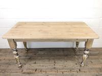 Vintage Pine Farmhouse Kitchen Table (7 of 9)