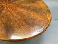 Scottish Victorian Oval Coffee Table (10 of 10)