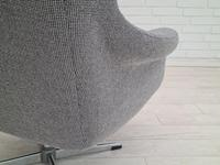 1970s, Restored Danish High-backed Armchair, H.W.Klein for Bramin (13 of 14)
