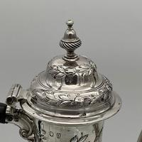 18th Century Antique George III Sterling Silver Rococo Coffee Pot London 1765 William & James Priest (9 of 10)