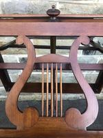 Antique Mahogany Music Duet Stand (9 of 10)