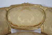 Pair of 19th Century French Gilt Louis XVI Style Armchairs (16 of 19)