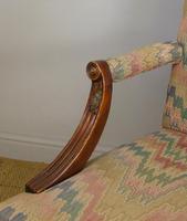 Fine Quality Georgian Style Mahogany Gainsborough Chair c.1920 (9 of 10)