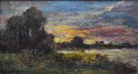 "Pierre LANGLADE ""La Charente a Chaniers"" Oil Painting (6 of 6)"