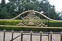 Antique King Size 5ft Half Tester Bedstead by R W Winfield. Bed Restored in your Colour (4 of 19)