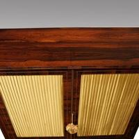 Regency Brass Inlaid Rosewood Side Cabinet (8 of 8)