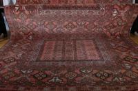 Large Mid 20th Century Afghan Ensi Rug (13 of 13)