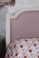 Pretty in Pink Newly Upholstered French King-size Bed (7 of 8)