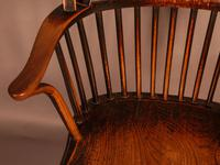 Thames Valley Yew Wood Windsor Chair (9 of 11)
