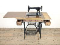 Antique Singer Sewing Machine Side Table (10 of 12)
