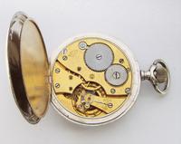 Antique 1910s Silver Pocket Watch by Revue Thommen (5 of 5)