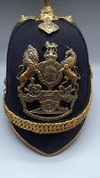 British 1878 Ptn. Home Service Cloth Helmet - Royal Artillery (6 of 7)