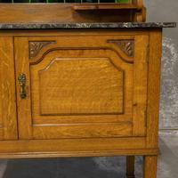 Edwardian Oak Washstand (9 of 9)